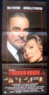 Russia House, The Daybill Movie poster