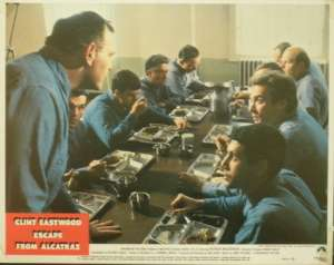 Escape From Alcatraz 1979 Clint Eastwood Fred Ward Lobby Card No 6