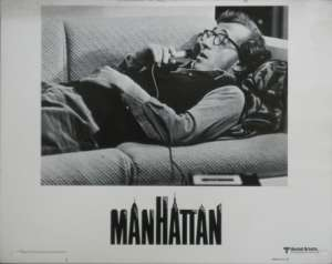Manhattan Lobby Card No. 3 USA 11x14 Woody Allen Diane Keaton