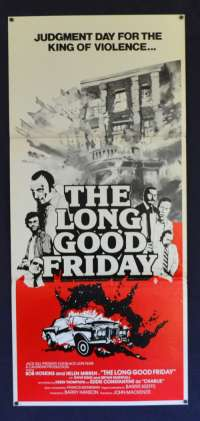 The Long Good Friday 1980 Bob Hoskins Daybill movie poster Film Noir rare