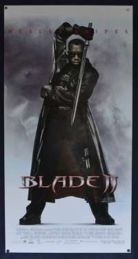 Blade 2 Movie Poster Original Daybill 2002 Wesley Snipes Vampires