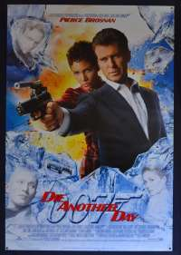 Die Another Day 2002 One Sheet movie poster ROLLED D/S Style D art Pierce Brosnan