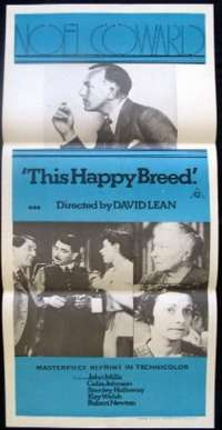 This Happy Breed Daybill Movie poster