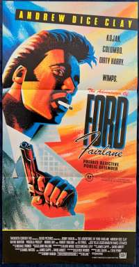 The Adventures Of Ford Fairlane Movie Poster Original Daybill 1990 Andrew Dice Clay