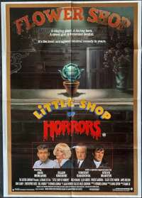 Little Shop Of Horrors 1986 One Sheet movie poster Rick Moranis Ellen Greene Steve Martin