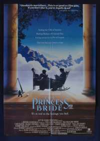 The Princess Bride 1987 One Sheet movie poster Cary Elwes Robin Wright Many Patinkin