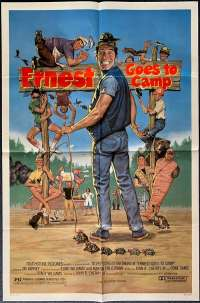 Ernest Goes To Camp One Sheet Australian Movie poster