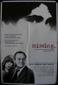 Missing One Sheet Australian Movie poster