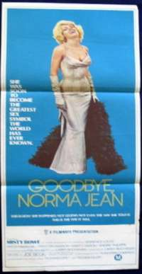 Goodbye Norma Jean Poster Australian Daybill Movie poster