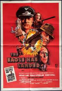 The Eagle Has Landed 1976 One Sheet movie poster Michael Caine Donald Sutherland
