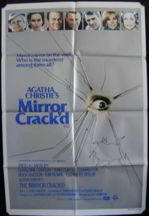 Mirror Crack'd, The One Sheet Australian Movie poster