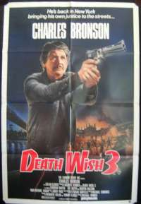 Death Wish 3 One Sheet movie poster Charles Bronson