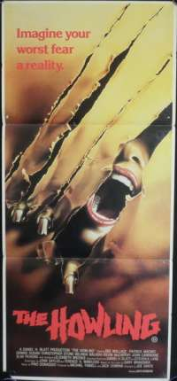 The Howling Daybill Movie Poster