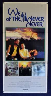 We Of The Never Never 1982 Daybill Movie Poster Angela Punch McGregor John Jarratt