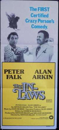 The In-Laws 1979 Peter Falk Alan Arkin Movie Poster Daybill