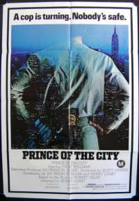 Prince Of The City One Sheet Australian Movie poster