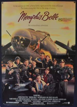 Memphis Belle 1990 One Sheet movie poster Matthew Modine B-17 Flying Fortress