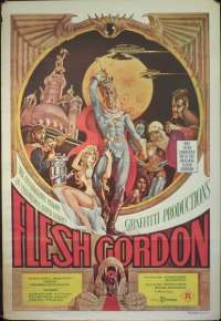 Flesh Gordon One Sheet Movie Poster