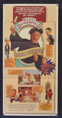 Back To School Daybill Movie poster