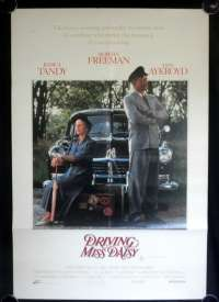 Driving Miss Daisy One Sheet Australian Movie Poster