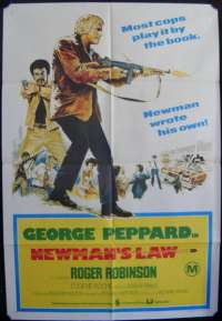 Newman's Law One Sheet Australian Movie poster