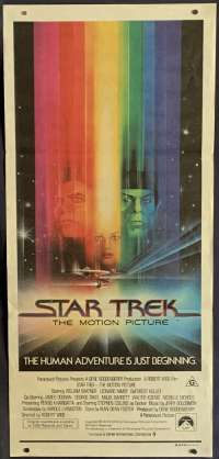 Star Trek The Motion Picture Poster Original Daybill 1979 Bob Peak Art