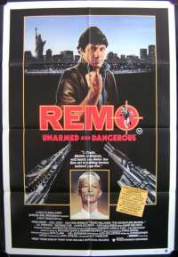 Remo: Unarmed And Dangerous One Sheet Australian Movie poster