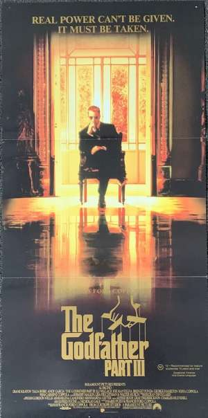 The Godfather Part 3 Poster Original Daybill 1990 Al Pacino