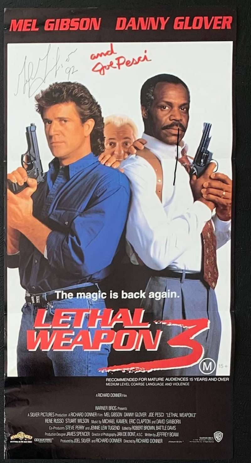 all about movies lethal weapon 3 movie poster original