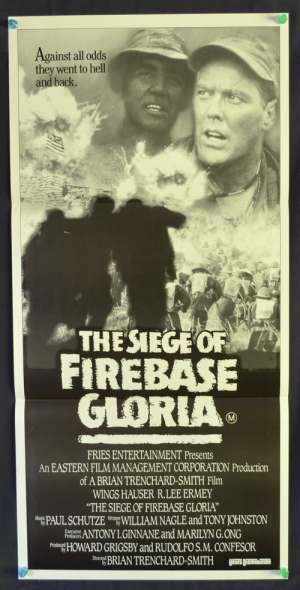 The Siege of Firebase Gloria Wings Hauser Daybill movie poster