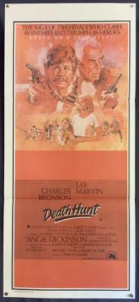 Death Hunt 1981 Charles Bronson Daybill movie poster