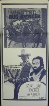 Can Be Done Amigo Daybill Movie poster