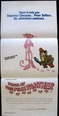 Trail Of The Pink Panther Daybill Movie poster