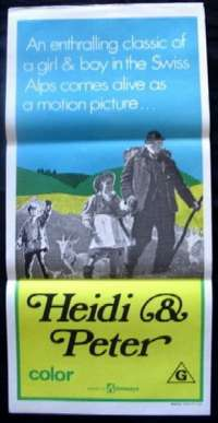 Heidi & Peter Daybill Movie poster