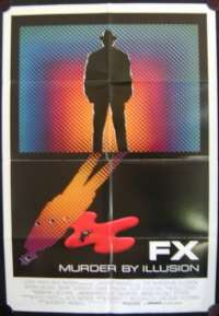FX Murder By Illusion 1986 Bryan Brown One Sheet movie poster