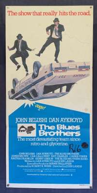 The Blues Brothers Poster Original Daybill 1980 RARE FIRST release John Belushi