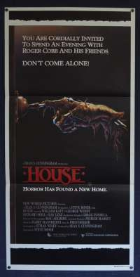 House 1986 Daybill movie poster Rare Horror William Katt George Wendt