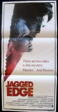 Jagged Edge Daybill Movie poster
