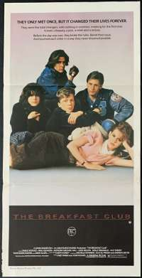The Breakfast Club Movie Poster Original Daybill 1985 Molly Ringwald John Hughes