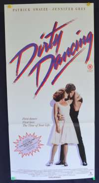 Dirty Dancing movie poster Daybill Patrick Swayze Jennifer Grey