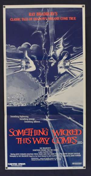 Something Wicked This Way Comes 1983 Jason Robards Daybill movie poster