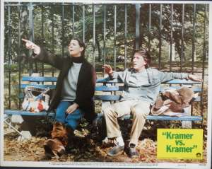 Kramer vs. Kramer Lobby Card No 4