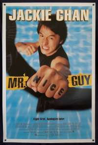Mr Nice Guy Movie Poster Original USA One Sheet Jacki Chan Richard Norton