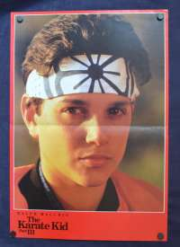 The Karate Kid Part 3 Poster Original Rare Promotional Release 1989 Ralph Macchio