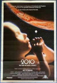 2010 The Year We Make Contact Poster Original One Sheet 1984 Roy Scheider