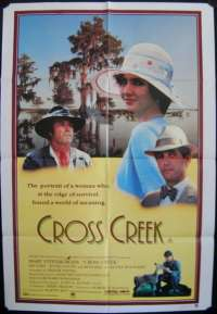 Cross Creek 1983 One Sheet movie poster Mary Steenburgen Rip Torn