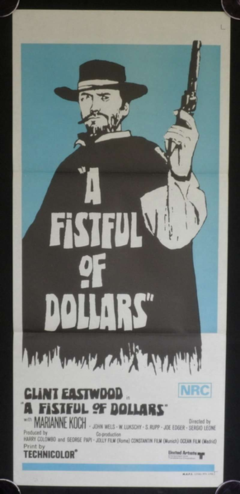 all about movies a fistful of dollars 1964 clint