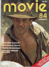 Indiana Jones And The Temple Of Doom Movie Magazine 1984 Number 3