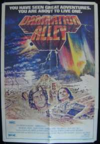 Damnation Alley One Sheet Australian Movie poster