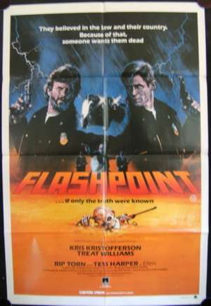 Flashpoint One Sheet Australian Movie poster